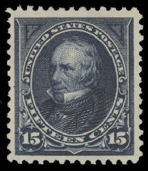 US Stamp Prices Scott Cat. # 274 - 1895 15c Clay. Daniel Kelleher Auctions, Aug 2015, Sale 672, Lot 2549