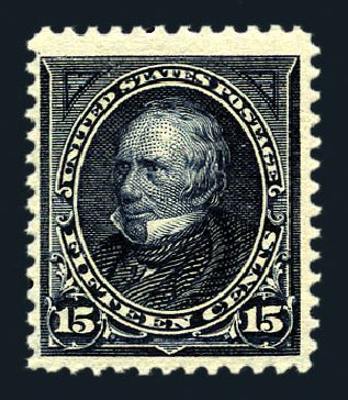 US Stamp Prices Scott Catalogue 274 - 15c 1895 Clay. Harmer-Schau Auction Galleries, Aug 2015, Sale 106, Lot 1684