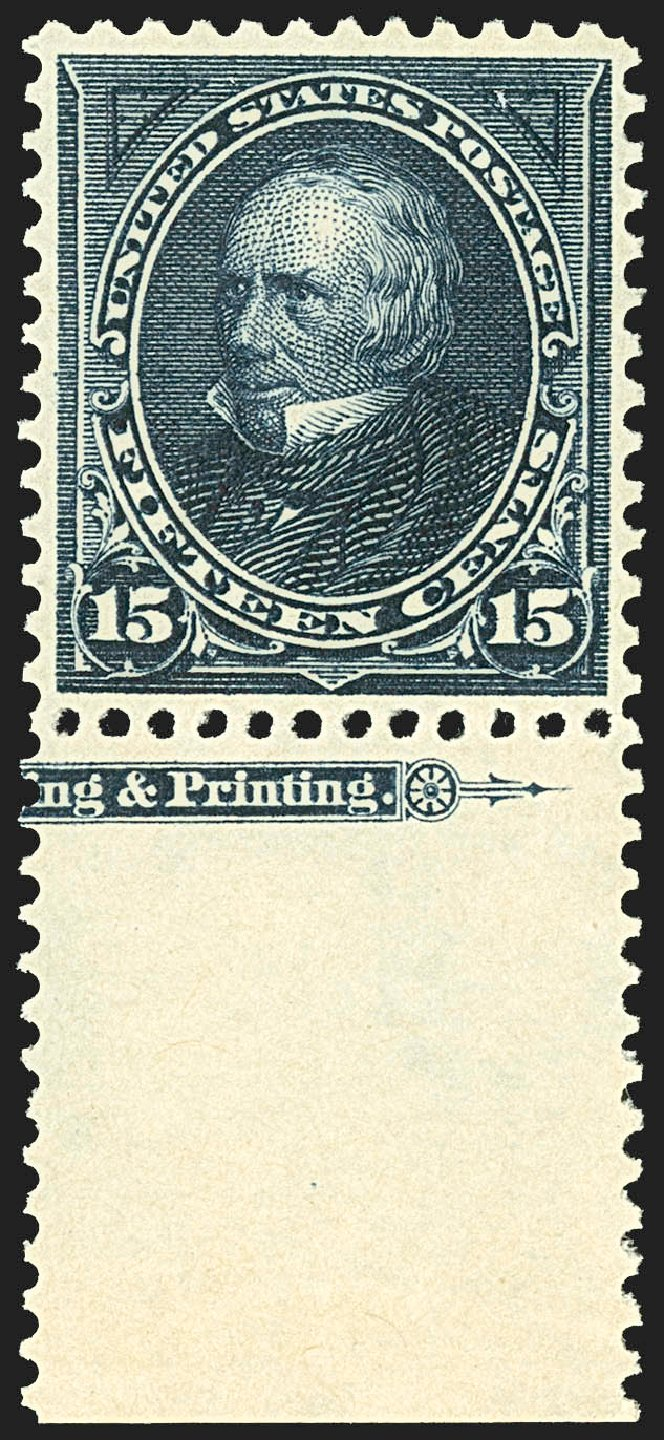 Costs of US Stamps Scott Cat. 274: 1895 15c Clay. Robert Siegel Auction Galleries, Jul 2015, Sale 1107, Lot 364