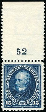 Prices of US Stamp Scott Catalogue 274 - 1895 15c Clay. Schuyler J. Rumsey Philatelic Auctions, Apr 2015, Sale 60, Lot 2755