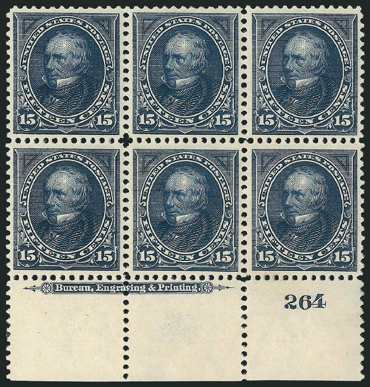 Prices of US Stamp Scott 274 - 15c 1895 Clay. Robert Siegel Auction Galleries, Nov 2014, Sale 1084, Lot 3616