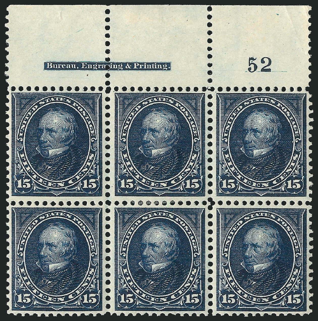 Prices of US Stamp Scott Catalog # 274 - 1895 15c Clay. Robert Siegel Auction Galleries, Apr 2015, Sale 1096, Lot 476