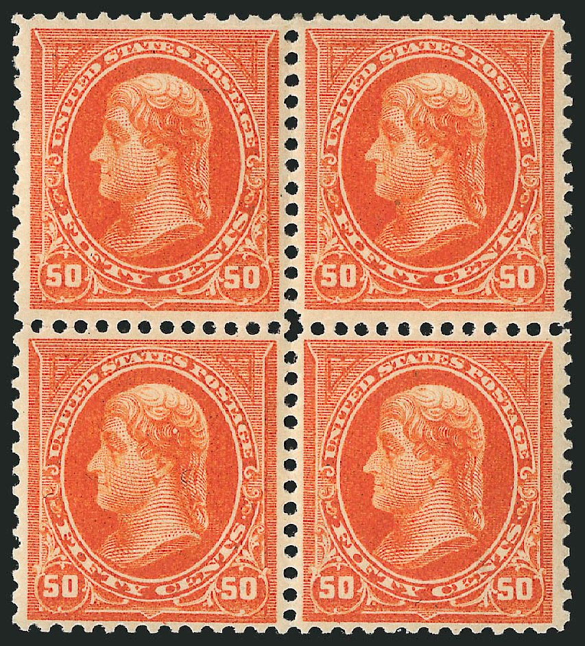 US Stamps Value Scott Catalogue # 275 - 50c 1895 Jefferson. Robert Siegel Auction Galleries, Apr 2015, Sale 1096, Lot 477