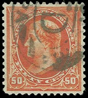 US Stamp Values Scott 275 - 1895 50c Jefferson. H.R. Harmer, Jun 2015, Sale 3007, Lot 3268
