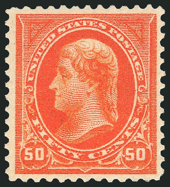 Price of US Stamps Scott 275: 50c 1895 Jefferson. Robert Siegel Auction Galleries, Nov 2014, Sale 1084, Lot 3619