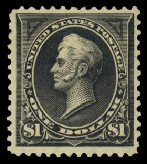 Price of US Stamp Scott Catalog # 276: 1895 US$1.00 Perry. Daniel Kelleher Auctions, May 2015, Sale 669, Lot 2791
