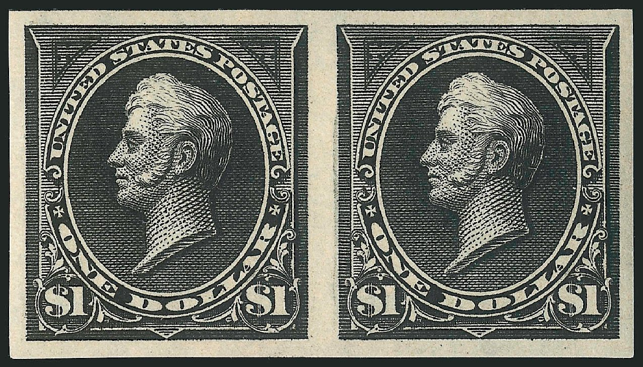 Value of US Stamps Scott Catalogue #276: 1895 US$1.00 Perry. Robert Siegel Auction Galleries, Apr 2015, Sale 1096, Lot 481
