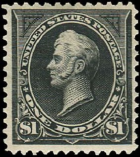 Costs of US Stamp Scott Catalogue #276A - 1895 US$1.00 Perry. Regency-Superior, Aug 2015, Sale 112, Lot 558