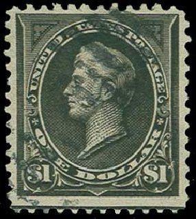 Price of US Stamp Scott # 276A - 1895 US$1.00 Perry. H.R. Harmer, Jun 2015, Sale 3007, Lot 3269