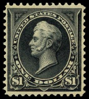 US Stamp Price Scott Catalog # 276A: US$1.00 1895 Perry. Daniel Kelleher Auctions, May 2014, Sale 653, Lot 2191