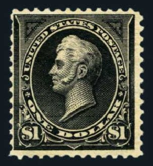 Prices of US Stamp Scott # 276A - US$1.00 1895 Perry. Harmer-Schau Auction Galleries, Aug 2014, Sale 102, Lot 1914