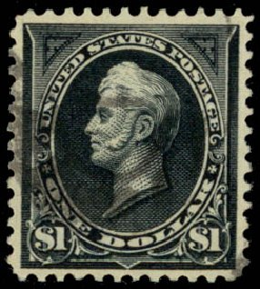 Costs of US Stamps Scott Catalog # 276A: US$1.00 1895 Perry. Daniel Kelleher Auctions, Jan 2015, Sale 663, Lot 1542
