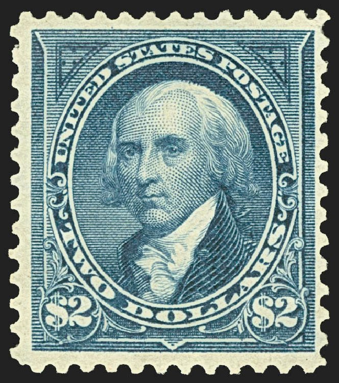 US Stamp Price Scott #277 - 1895 US$2.00 Madison. Robert Siegel Auction Galleries, Jul 2015, Sale 1107, Lot 368