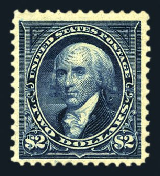 US Stamp Price Scott 277: US$2.00 1895 Madison. Harmer-Schau Auction Galleries, Aug 2015, Sale 106, Lot 1689