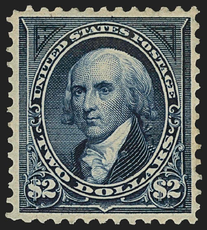 US Stamp Value Scott 277: US$2.00 1895 Madison. Robert Siegel Auction Galleries, Jul 2015, Sale 1107, Lot 369