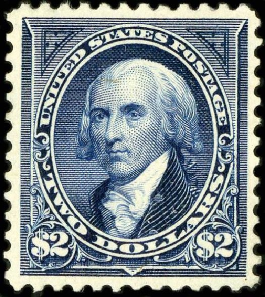 Value of US Stamp Scott Cat. # 277 - US$2.00 1895 Madison. Spink Shreves Galleries, Jul 2015, Sale 151, Lot 229
