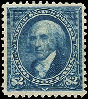 US Stamp Price Scott # 277 - US$2.00 1895 Madison. Regency-Superior, Aug 2015, Sale 112, Lot 564