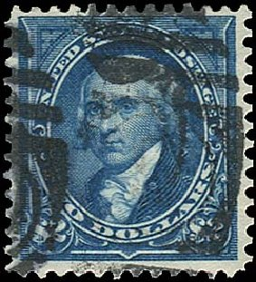 US Stamp Value Scott 277: US$2.00 1895 Madison. Regency-Superior, Aug 2015, Sale 112, Lot 565