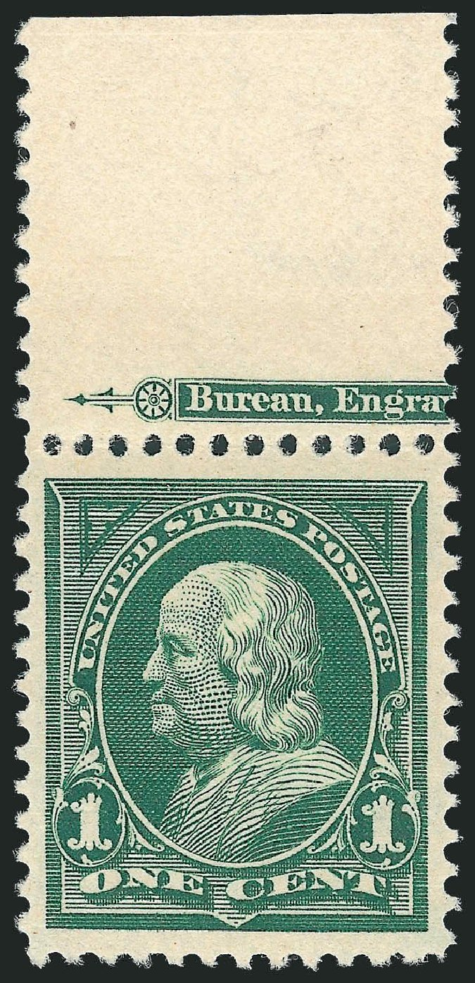 Value of US Stamps Scott 279: 1c 1898 Franklin. Robert Siegel Auction Galleries, Nov 2013, Sale 1061, Lot 3778
