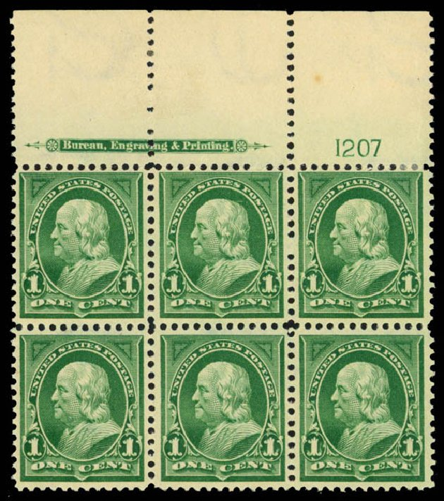 Prices of US Stamp Scott # 279: 1c 1898 Franklin. Daniel Kelleher Auctions, Mar 2013, Sale 635, Lot 395