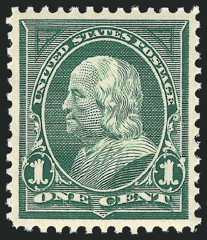 Values of US Stamps Scott # 279: 1898 1c Franklin. Robert Siegel Auction Galleries, Nov 2012, Sale 1034, Lot 263