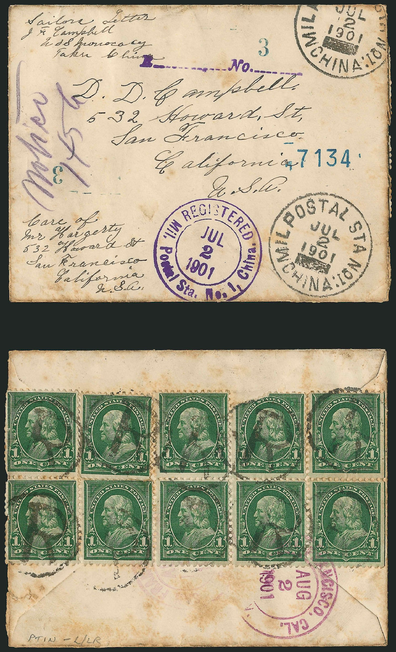 US Stamps Prices Scott #279 - 1c 1898 Franklin. Robert Siegel Auction Galleries, Jun 2015, Sale 1105, Lot 2636