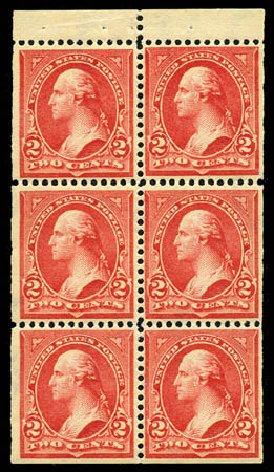 Costs of US Stamps Scott Cat. #279B - 1897 2c Washington. Matthew Bennett International, Feb 2012, Sale 340, Lot 357
