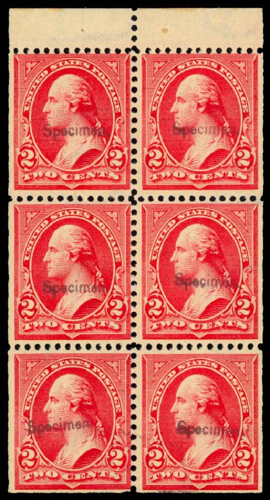 Value of US Stamp Scott Catalog # 279B - 2c 1897 Washington. Daniel Kelleher Auctions, Dec 2013, Sale 640, Lot 238