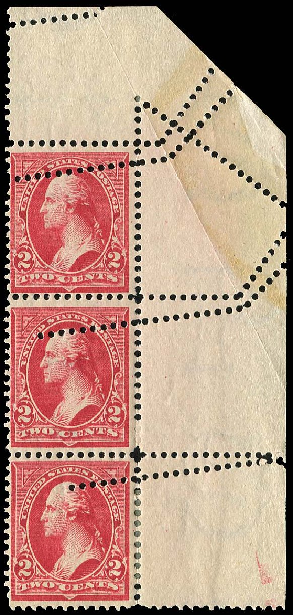 US Stamps Prices Scott Catalog 279B - 1897 2c Washington. Regency-Superior, Nov 2014, Sale 108, Lot 1498