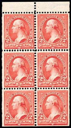 US Stamps Values Scott Cat. 279B: 2c 1897 Washington. Schuyler J. Rumsey Philatelic Auctions, Apr 2015, Sale 60, Lot 2708