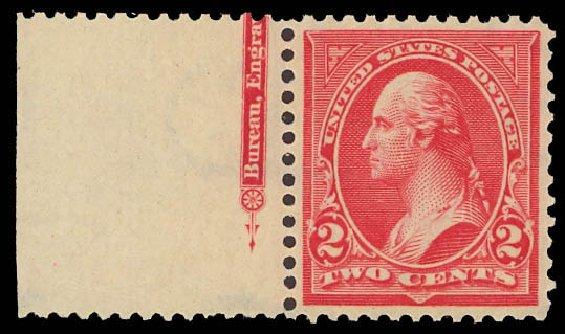 Cost of US Stamp Scott Catalogue # 279B - 2c 1897 Washington. Daniel Kelleher Auctions, Aug 2012, Sale 631, Lot 1000