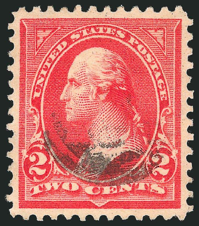 US Stamp Values Scott #279B - 1897 2c Washington. Robert Siegel Auction Galleries, Oct 2012, Sale 1032, Lot 3401