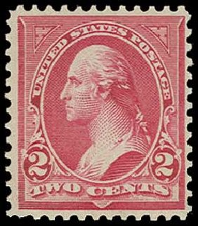 US Stamp Value Scott Catalog 279B - 2c 1897 Washington. H.R. Harmer, Jun 2015, Sale 3007, Lot 3274