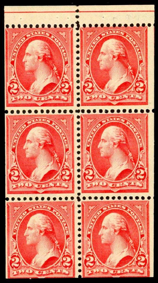 US Stamp Prices Scott Catalogue 279B - 2c 1897 Washington. Daniel Kelleher Auctions, Dec 2013, Sale 640, Lot 244