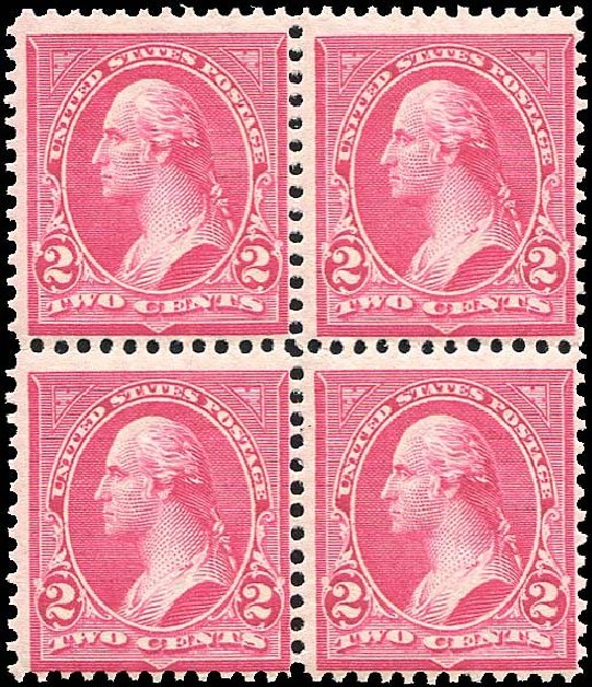 US Stamps Price Scott Cat. #279B: 1897 2c Washington. Regency-Superior, Nov 2014, Sale 108, Lot 574