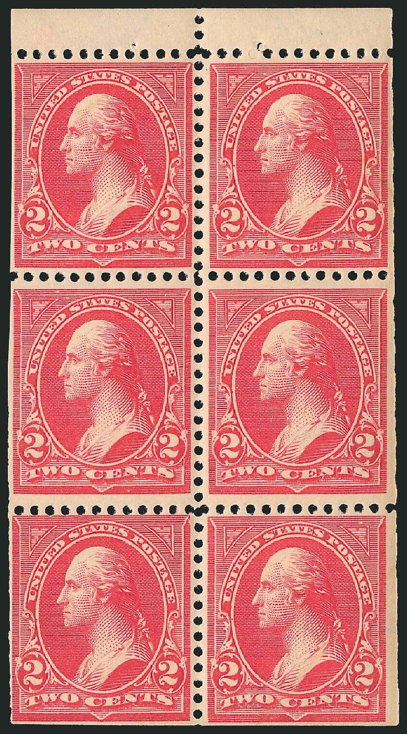 US Stamps Prices Scott Catalogue #279B: 1897 2c Washington. Robert Siegel Auction Galleries, Mar 2014, Sale 1067, Lot 1294