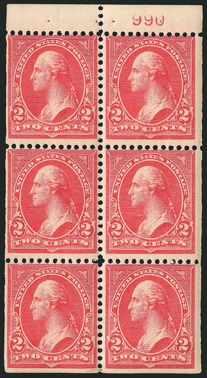 US Stamps Values Scott Cat. 279B: 1897 2c Washington. Robert Siegel Auction Galleries, Mar 2014, Sale 1067, Lot 1295