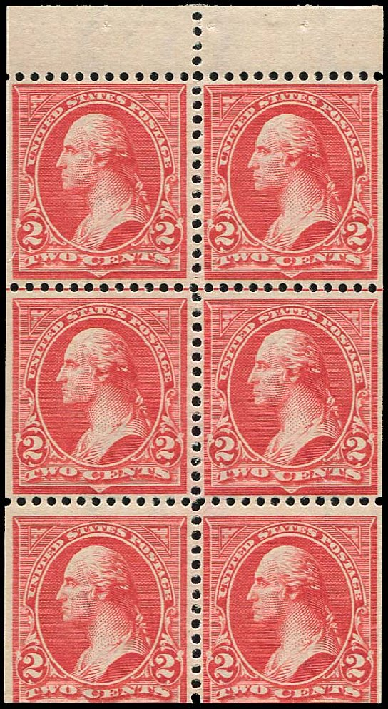 US Stamps Values Scott 279B: 2c 1897 Washington. Regency-Superior, Jan 2015, Sale 109, Lot 1012