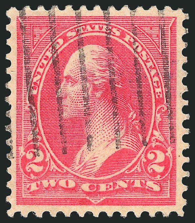 Value of US Stamp Scott Catalogue #279B: 1897 2c Washington. Robert Siegel Auction Galleries, Oct 2012, Sale 1032, Lot 3402