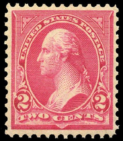 US Stamp Value Scott Catalog #279B - 1897 2c Washington. Matthew Bennett International, May 2014, Sale 350, Lot 406