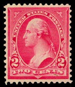 Prices of US Stamp Scott Catalog 279B: 1897 2c Washington. Daniel Kelleher Auctions, May 2014, Sale 652, Lot 426