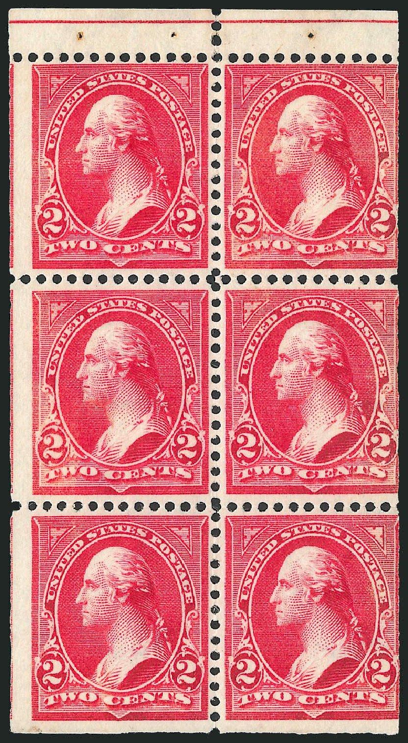 US Stamps Prices Scott Catalog 279B: 2c 1897 Washington. Robert Siegel Auction Galleries, Mar 2014, Sale 1067, Lot 1296