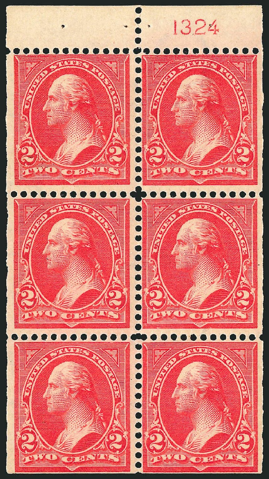 US Stamp Value Scott Catalog 279B: 1897 2c Washington. Robert Siegel Auction Galleries, Jul 2014, Sale 1077, Lot 206