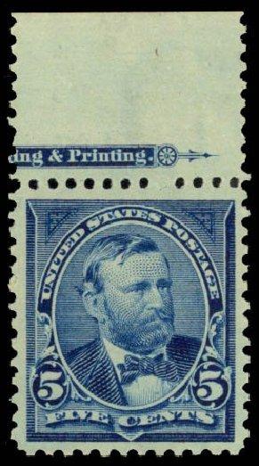 Price of US Stamp Scott Catalogue #281: 1898 5c Grant. Daniel Kelleher Auctions, Dec 2014, Sale 661, Lot 248