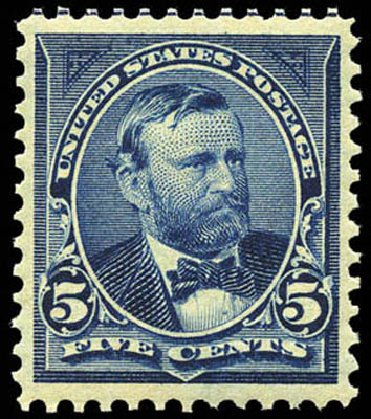 US Stamps Price Scott Catalog # 281 - 5c 1898 Grant. Matthew Bennett International, Mar 2011, Sale 337, Lot 2729
