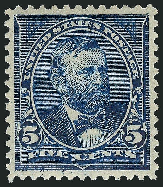 US Stamps Price Scott # 281 - 1898 5c Grant. Robert Siegel Auction Galleries, Nov 2013, Sale 1057, Lot 869
