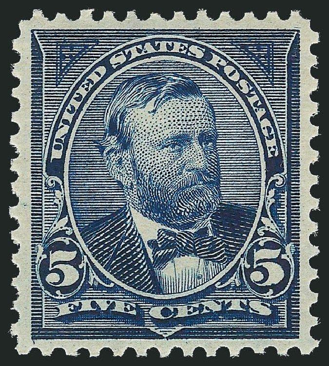 US Stamp Value Scott Catalog 281: 5c 1898 Grant. Robert Siegel Auction Galleries, Nov 2013, Sale 1061, Lot 3780