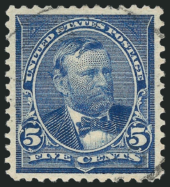 Cost of US Stamp Scott Catalogue #281: 5c 1898 Grant. Robert Siegel Auction Galleries, Oct 2012, Sale 1032, Lot 3404