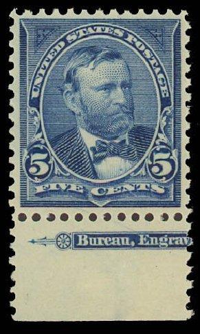 US Stamps Price Scott # 281 - 1898 5c Grant. Daniel Kelleher Auctions, Jun 2012, Sale 630, Lot 1645
