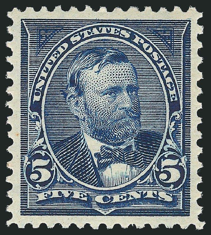 Values of US Stamps Scott Cat. 281 - 5c 1898 Grant. Robert Siegel Auction Galleries, Dec 2013, Sale 1062, Lot 465